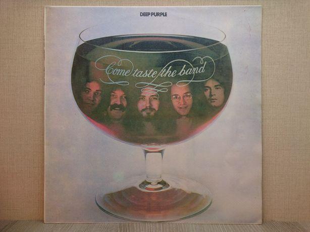 Виниловая пластинка Deep Purple - Come Taste The Band 1975 (Дип Пёрпл)