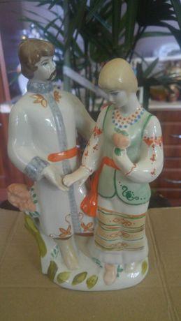 Фарфоровая статуэтка Влюблённые.