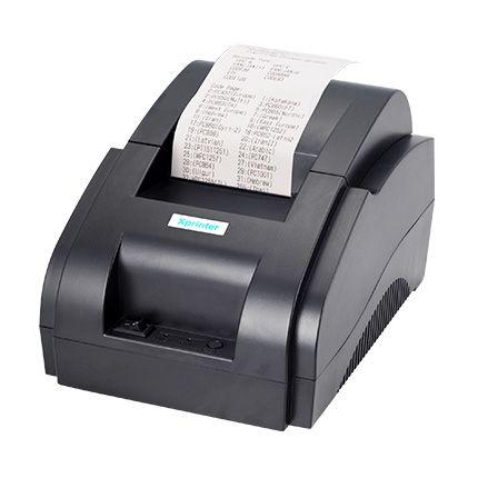 POS принтер чеков Xprinter XP-58IIH чековый 1с 1с торгсофтJP-5890