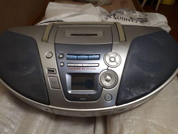 Продам CD-магнитола Panasonic c кассетной декой