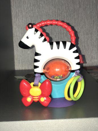 Іграшка гризунець зебра на присосці Fisher price