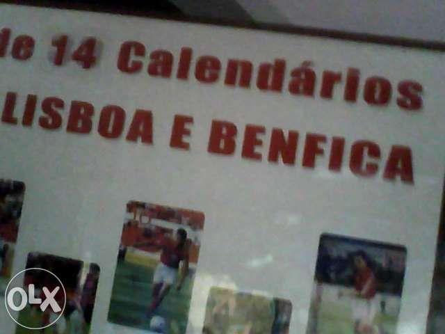Calendarios benfica 2000 Tornada E Salir Do Porto - imagem 1