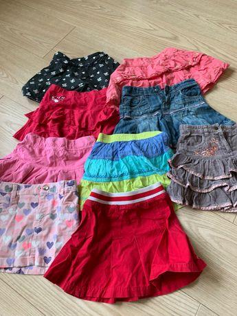 Koplet spódniczek dla dziewczynki 3-6 lat