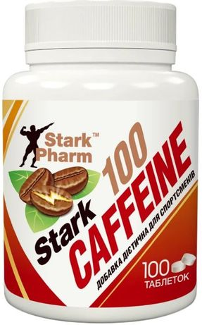 Caffeine 100 таб 100мг (200мг) (жиросжигатель кофеин протеин) Киев