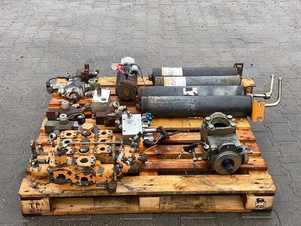 case 921 c pompa hydrauliczna rozdzielacz sterowniki komplet