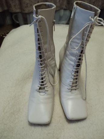 Продам ботинки кожание
