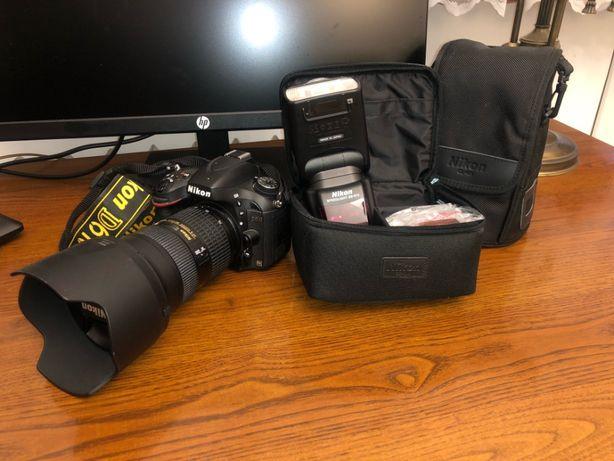 Zestaw Nikon D610 + NIKKOR AF-S 24-70 mm + Lampa Nikon SB 910