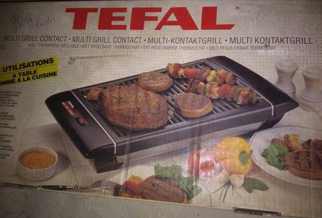 Grelhador Eletrico Tefal - Multi Grill Contact - Com Caixa