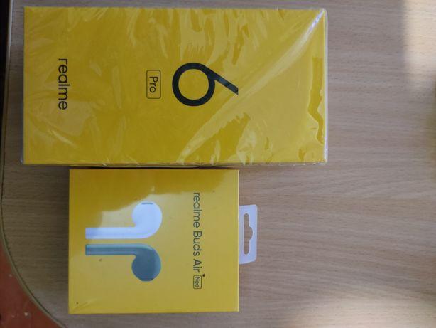 Продам Realme 6 pro8/128 ГБ ,Realme buds air neo , Xiaomi mi 6/64 GB