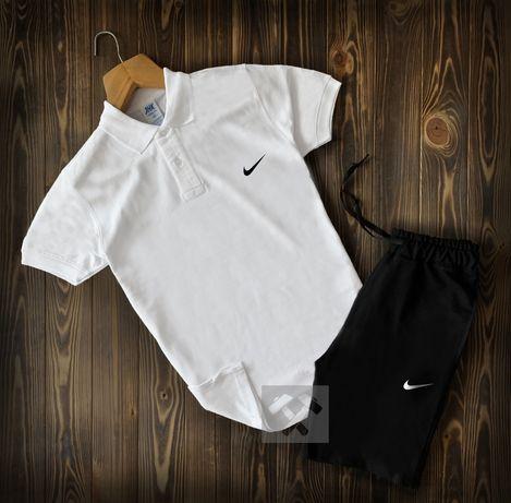 РАСПРОДАЖА!! Хитовые мужские спортивные костюмы Nike. Поло + шорты