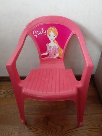 Krzesełko plastikowe dla dziecka