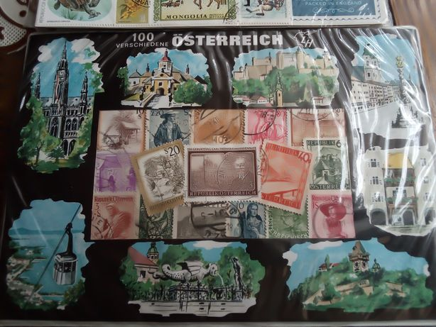 Znaczki zagraniczne kolekcjonerskie