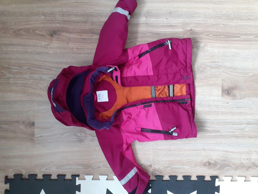 Kurtka zimowa narciarska dziecieca 92 FIX