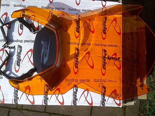 KTM Super Duke 1290 R '14 - '16 Szyba Puig pomarańczowa Aero