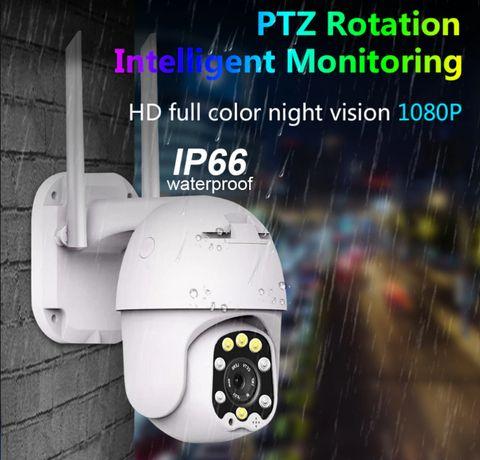 Câmera IP Anran 3MP 360º 4X ZOOM Prova de Água Exterior Rotativa [NOVO