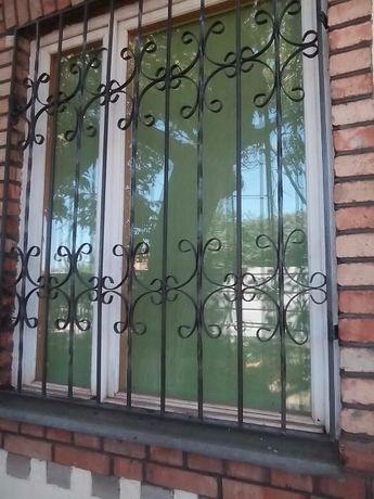 Решетки на окна от 550 грн/кв, входные двери металлические от 3 200грн