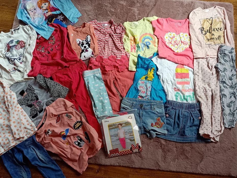Ubranka dla dziewczynki rozm.116 Rogoźno - image 1