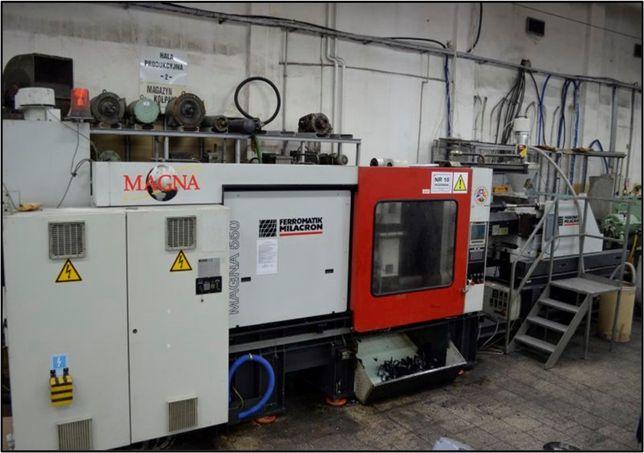 Wtryskarka Ferromatic Milacron VM550/2400