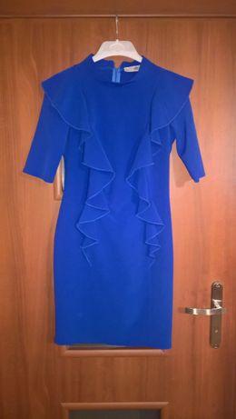 Sukienka Vera by Lucca z falbanami