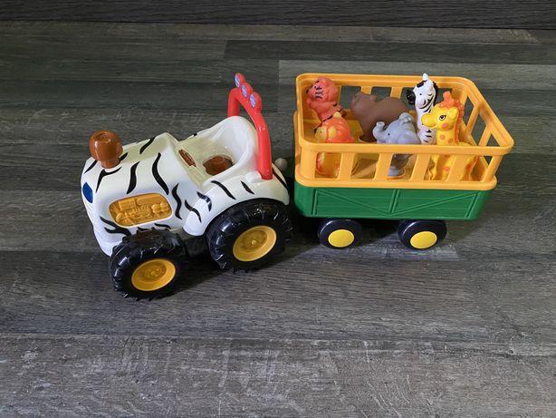 Трактор Сафари Киддиленд