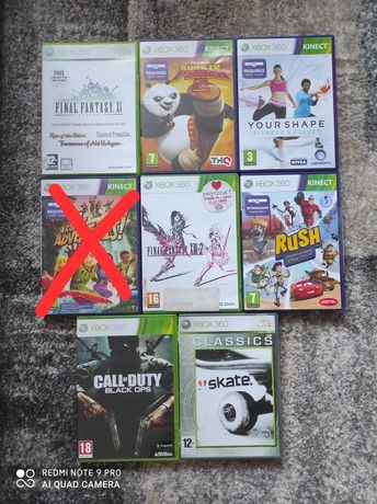 Gry na konsole Xbox 360