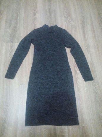 Новое ангоровое платье