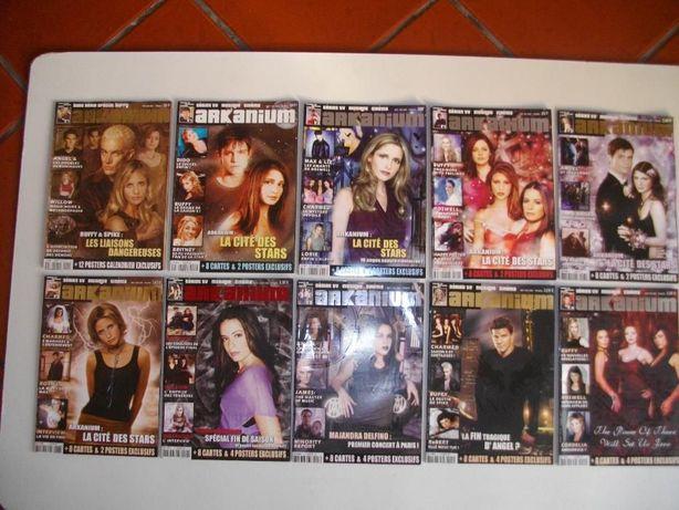 ARKANIUM: 10 revistas em Francês (2001, 2002)