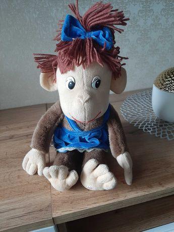 Мягкая игрушка обезьянка девочка