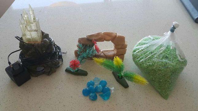 Decorações para aquario