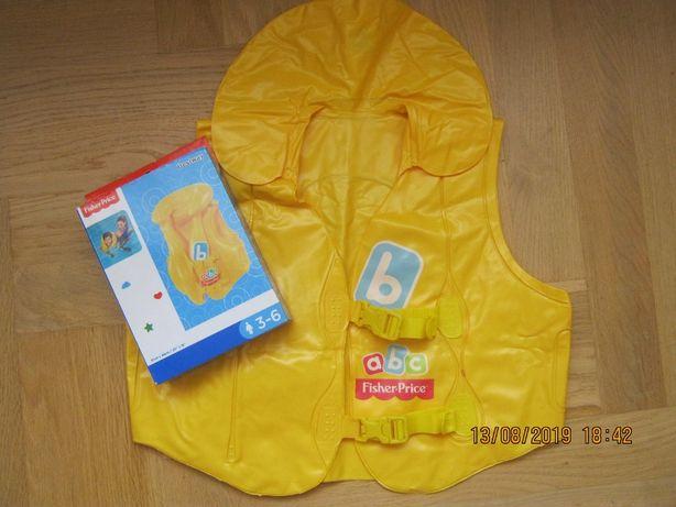 Детский надувной жилет Fisher Prise Америка BestWay от 3 до 6 лет