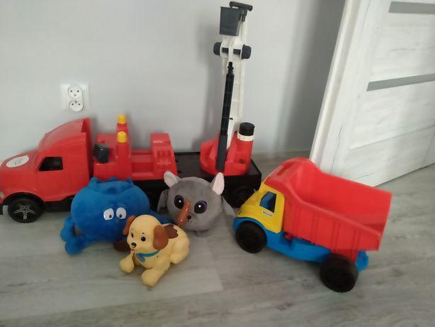 Zabawki  wywrotka itd