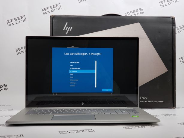 HP ENVY 17 IPS Touch i7-1065G7 1.3GHz 12Gb 512SSD MX330 2Gb NEW