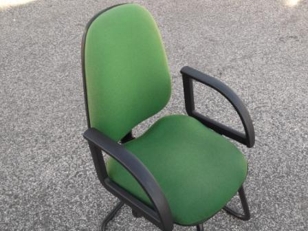 Cadeiras de Escritorio/sala de espera verdes