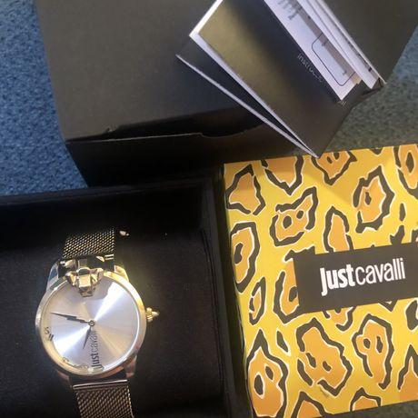 Conjunto colar e relógio Just Cavalli
