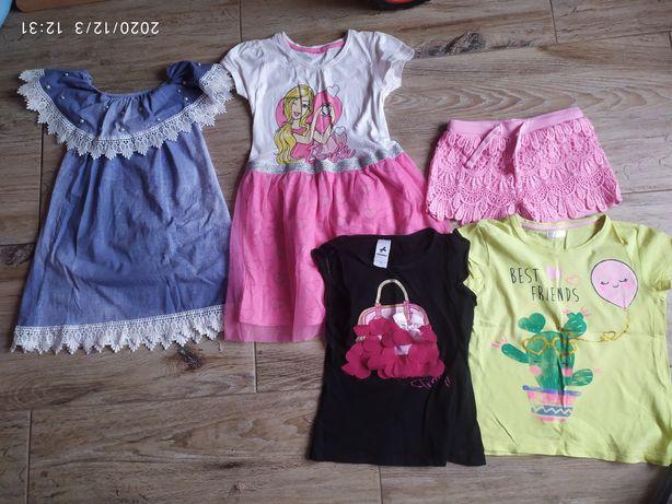 Ciuszki dla dziewczynki 116-122