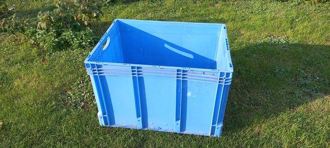 Skrzynka plastikowa ,pojemnik magazynowy duża