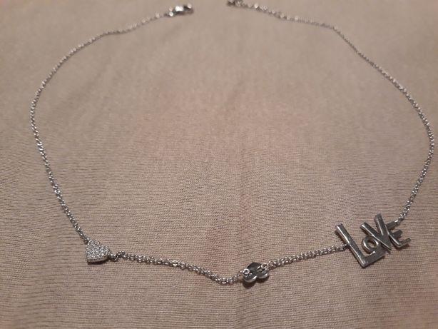 Naszyjnik apart, srebro 925, celebrytka