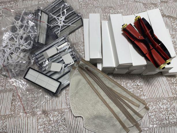 Фильтр, щётка, тряпка для робота-пылесоса Xiaomi Roborock