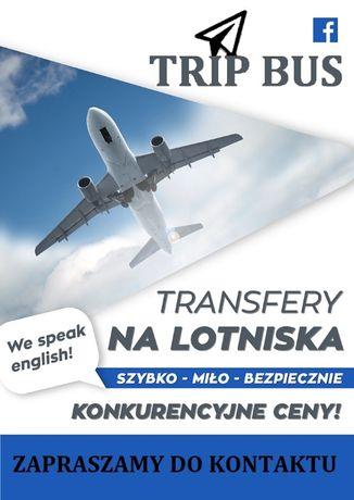 Transfery na lotniska! Przewozy na lotniska! Transport BUS