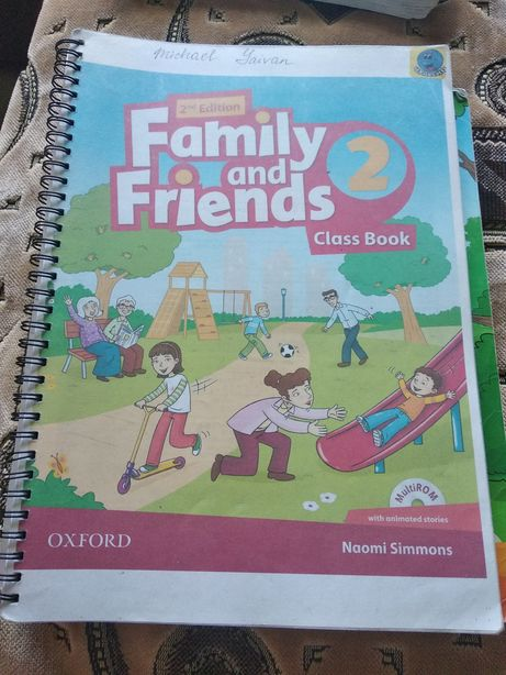 Family and friends книги по английскому