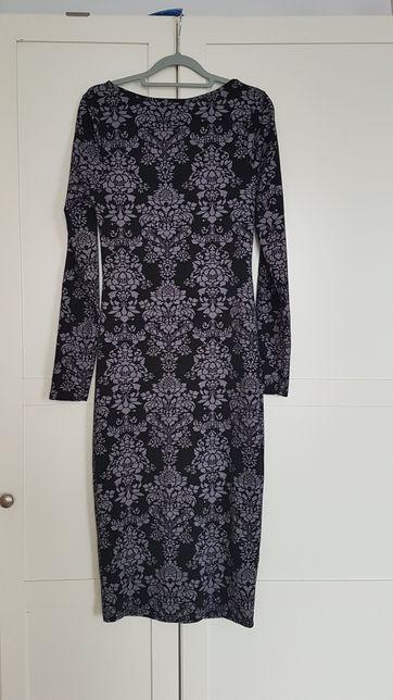BOOHOO sukienka w kwiaty r.40