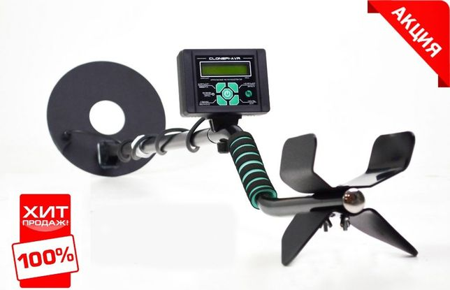 Металлоискатель ЖК-дисплей поиск 2-3 м! металошукач Клон