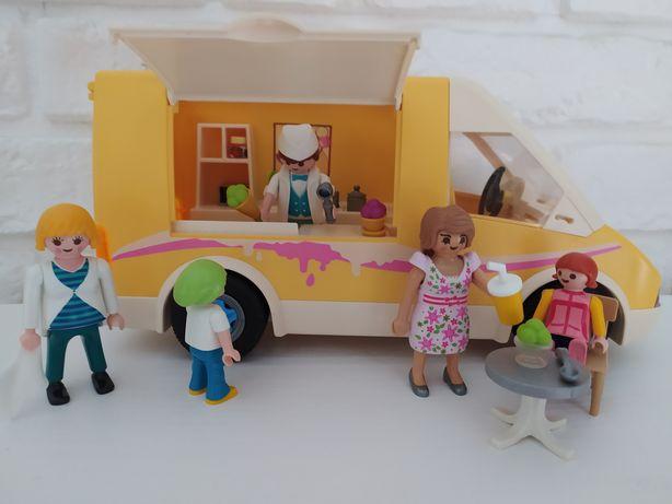 Zestaw lodziarnia playmobil