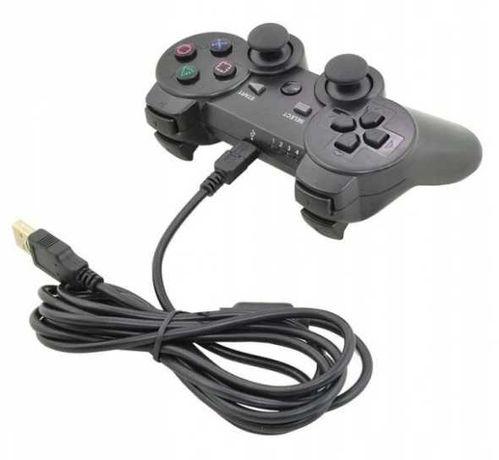 Pad przewodowy USB do Playstation PS3 i PC czarny *VideoPlay Wejherowo