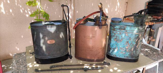 Conjunto de três pulverizadores
