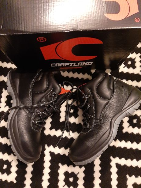 nowe wysokie ochronne buty robocze s3 craftland r 39