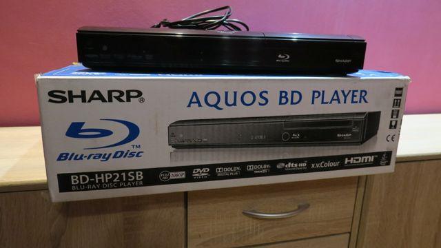 Blu-ray Sharp BD-HP21SB, używany, stan bardzo dobry