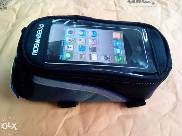 "Bolsa BTT/bicicleta/bike telemóvel gps Ecrã 4.2"""