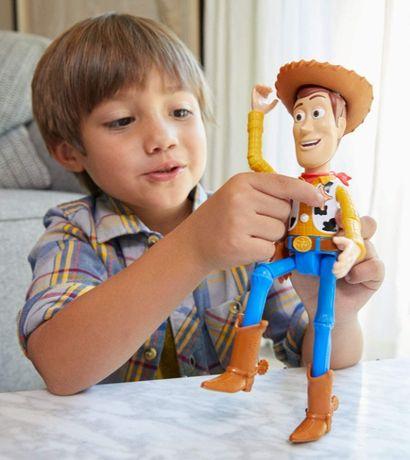 История игрушек Вуди, говорящий, 23см,Toy Story Woody True Talking