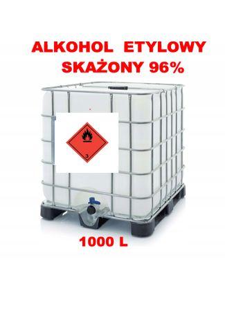 Alkohol etylowy skażony 96% 1000L